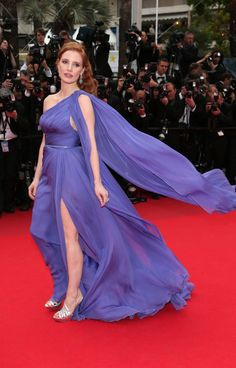 Wearing Elie Saab Couture in 2014.