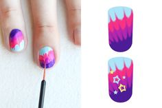 Easy Nail Art Designs - Easy DIY Nail Art Design