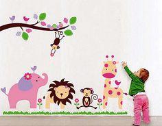 Viniles Decorativos Infantiles en Galeria Zullian & Trompiz Fabricacion propia, se personalizan a su gusto, se cambian los colores de acuerdo a su decoracion, se pueden hacer en cualquier medida Visite la pagina ,y solicite la tabla de medidas y precios