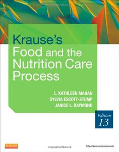 Krause's Food & the Nutrition Care Process, 13e (Food, Nutrition & Diet Therapy (Krause's)) - http://www.healthbooksshop.com/krauses-food-the-nutrition-care-process-13e-food-nutrition-diet-therapy-krauses-2/