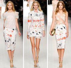Blumarine Spring/Summer 2014 RTW - Milan Fashion Week  #MFW #fashionweek #MilanFashionWeek