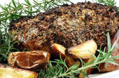 Italian Roast Pork with Rosemary Potatoes