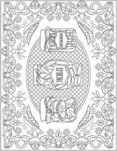 Creative Haven Farmers Market Designs Coloring Book Welcome to Dover Publications