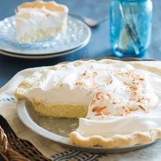 With its perfectly flaky buttermilk crust and dreamy coconut filling, this is an heirloom coconut cream pie like our grandmothers made.