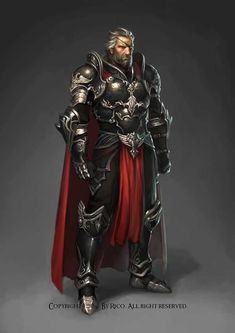m Paladin plate armor knight Fantasy Warrior, Fantasy Male, Fantasy Rpg, Medieval Fantasy, Fantasy Artwork, Elf Warrior, Dungeons And Dragons Characters, Dnd Characters, Fantasy Characters