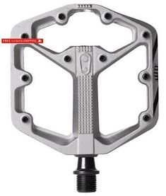 Crank Brothers Stamp 2 Black// Red// Raw SMALL LARGE Bike DH Pedals CrankBrothers