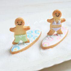 surf boy & girl cookies♡