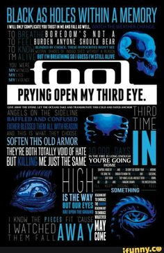 Rock Posters, Concert Posters, Kinds Of Music, Music Is Life, Tool Lyrics, Tool Artwork, Tool Music, Tool Tattoo, Musica