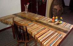 Como hacer una mesa original con palets