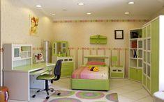 Kids Bedroom Design Idea - Green