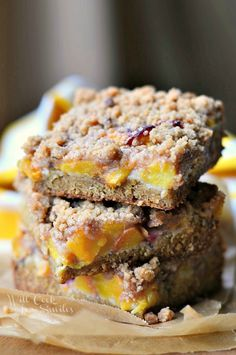 Peach Crumble Cookie