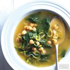 This is the comforting vegetarian soup you've been looking for. Brighten things up with a big squeeze of fresh lemon./