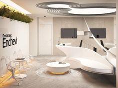 Out Of Space: Dental Clinic Design by Bozhinovski Studio   DesignRulz.com