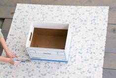 Take advantage of the extra space under your bed with these easy-to-build under-bed storage drawers from HGTV. Fabric Storage Boxes, Fabric Boxes, Storage Bins, Storage Drawers, Storage Containers, Diy Crafts For Gifts, Diy Home Crafts, Easy Crafts, Sewing To Sell