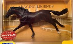 Breyer Traditional Model Horse # 597 Ruffian Thoroughbred Racehorse Filly