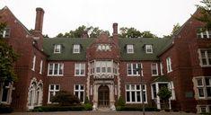 Aquinas College haunted mansion--Grand Rapids, Michigan
