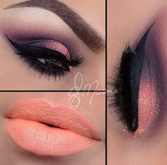 I don't like the lip color but love the eye make up. wish I could do my make up like this Cute Makeup, Gorgeous Makeup, Pretty Makeup, Gorgeous Eyes, Pretty Eyes, Makeup Goals, Makeup Inspo, Makeup Inspiration, Makeup Ideas