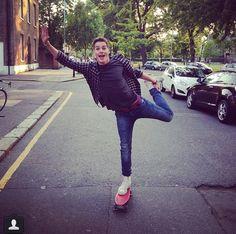 Jack was ballet penny boarding