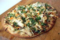 Pizza thaï au poulet