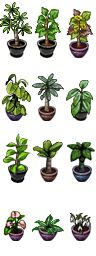 RPG Maker VX - Plants I by Ayene-chan.deviantart.com on @deviantART