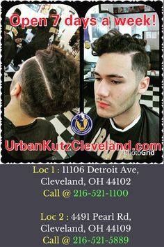 Find the best barber shop in Cleveland, Ohio while searching for barbers near me.