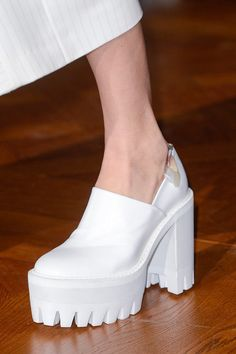 Stella McCartney Fall 2013. white creepers