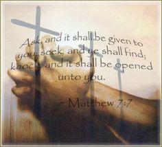 Christ's Promise for Seeking God by Prayer