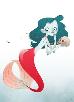 Evil Mermaid by tshipbd.deviantart.com on @deviantART