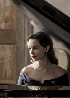 """""""New still of Emilia Clarke as Verena in Voice from the Stone. """""""
