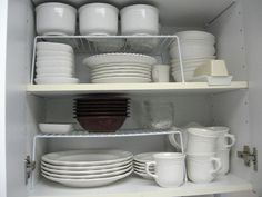 Kitchen Downsizing, How To Downsize and Organize Your Kitchen, Downsizing A Kitchen, Kitchen Organization, Lea Schneider, Professional Organizer