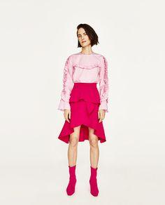 Immagine 1 di GONNA VOLANT di Zara