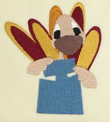 Thanksgiving Embroidery Font by 8Clawsandapaw.com