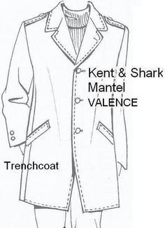 """Kent + Shark Trenchcoat """"Valence"""" nach Maß"""