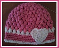Valentine's Day Heart Hat by KnittingLove4U on Etsy, $12.00