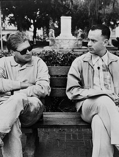 "cinecat: """" Robert Zemeckis and Tom Hanks behind the scenes of Forrest Gump "" "" Trending Tv Shows, Best Classic Movies, Forrest Gump 1994, Redbox Movies, Good Movies To Watch, Everything Will Be Alright, Watch Tv Shows, Book Writer, Tom Hanks"