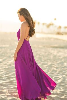 Helloooooo gorgeous! The stunning flow and backless cut of this dress is completely irresistible. We're just as obsessed with the...