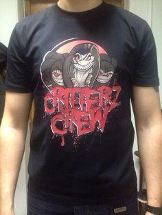 футболка с моим дизайном для команды CRITTERZ