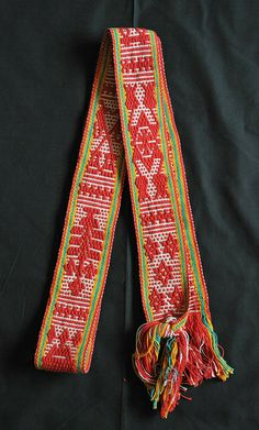 Zapotec Belt Mexico by Teyacapan, via Flickr