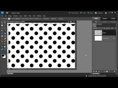 Project Life: Create dots pattern & add texture Tutorial Photoshop Elements: Polka Dots!