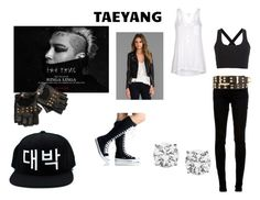 """Taeyang"" by nbafanforlife ❤ liked on Polyvore featuring dVb Victoria Beckham, LAER, Theory, Splendid, Charlotte Russe, bigbang and kpop"