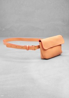 CLARE VIVIER LEATHER BUM BAG | & OTHER STORIES