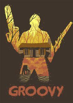Ash vs Evil Dead T-shirt design for qwertee.com. Please vote and share!