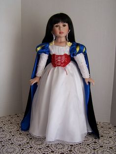 Nancy Peterson's Personal Collection. A Marie Osmond Doll. Snow White, 2012 Marie Osmond Doll