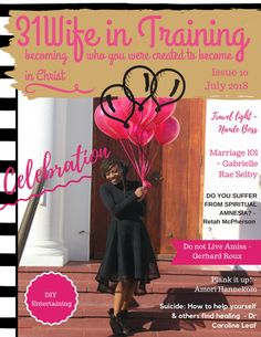 in Training is a global Christian lifestyle magazine. We are here to inspire and encourage women from all walks of life and help bring unity in the body of Christ. Unity, Christ, Encouragement, Spirituality, Marriage, Entertaining, Life, Valentines Day Weddings, Casamento