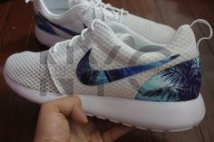 a9f0548fb1a8 Nike Roshe Run Custom New York Palm Tree All Nike Shoes