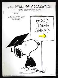 Slikovni rezultat za snoopy graduate education