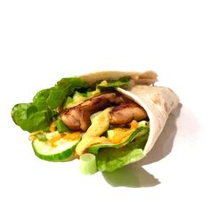 Honing-mosterd wrap