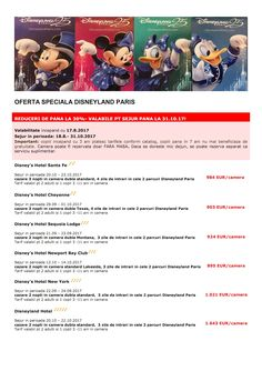Oferta speciala Disneyland Paris http://www.mara-boutique.ro #disney #disneyland #thehappiestplaceonearth #magic  #magicplace