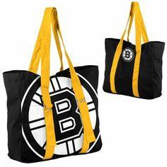 Boston #Bruins Ladies Big Logo Tote
