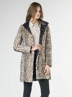 Piumino reversibile Patrizia Pepe 2S1061 donna giubbotto giubbino COAT jacket